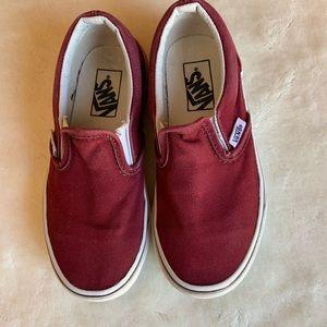 Kid's Slip-on Vans Size 12